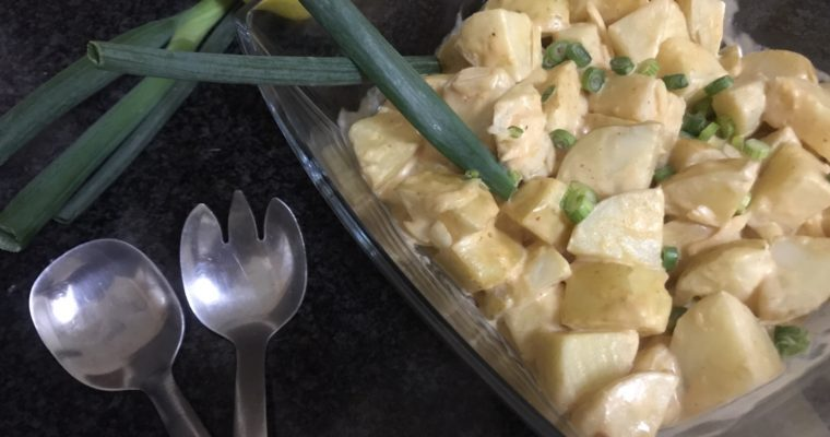 Simply Stunning Potato Salad with Homemade Thousand Island Dressing