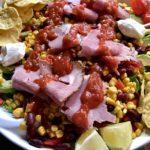 Mexican Roast Beef & Nacho Salad