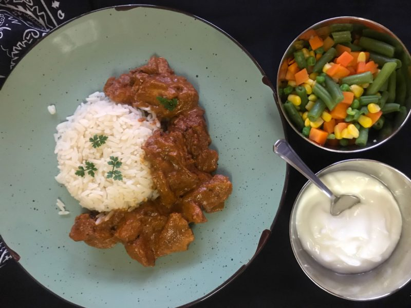 mouthwatering homemade butter chicken